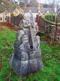 Memorial in the old Annesley churchyard to John and Lina Chaworth Musters, George Chaworth Musters, Mary Anne Packe, Henry Charlton Chaworth-Musters, and the three Chaworth-Musters sons killed in the First World War. © Ian Palmer 2007