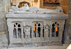 Tomb of Sir Hugh Willoughby, Wollaton parish church