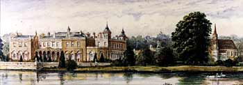 Painting of Clumber Park