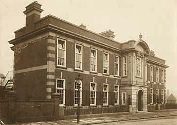Photograph of Nottingham and Midland Eye Infirmary in 1912