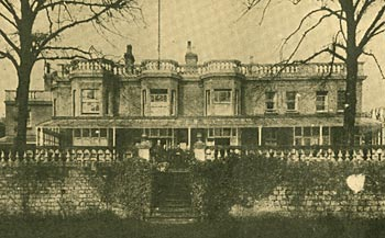 Photograph of the exterior of Ellerslie House Home, 1931