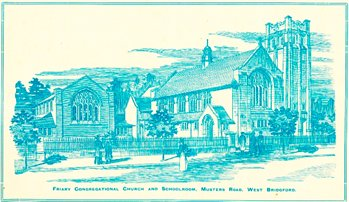 Friary Congregational Church, West Bridgford, in 1903 (Fy P 2/1)