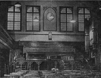 Interior of Norton Street Congregational Church (CU/Z2/18/3)