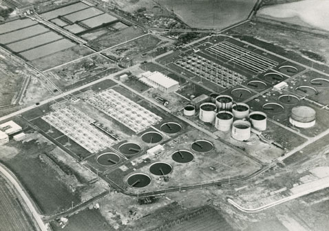 Aerial photograph of the Stoke Bardolph site (RWA/F/4/9/3)