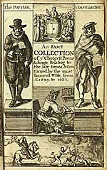 Illustrated title page of Rump from 1662