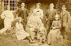Photograph of the Chambers family