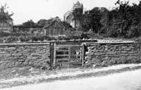 Photograph of the Laxton Pinfold, c.1897-1969