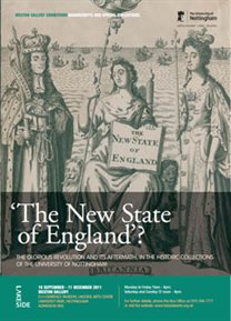 Poster for the New State of England exhibition