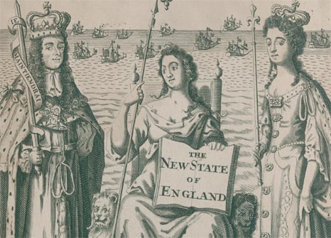 The New State of England exhibition poster