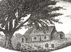 Image of Sneinton chapel, published in 1797