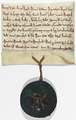 13th century title deed (Mi D 4650)