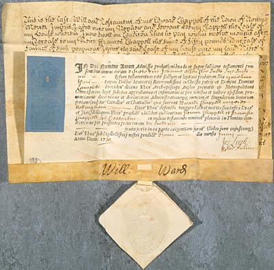Photo showing deed Ne D 619