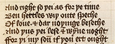 Detail from John Gower, Confessio Amantis, WLC/LM/8, f. 67r