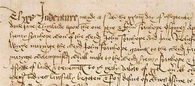 Old English Cursive Alphabet Letters