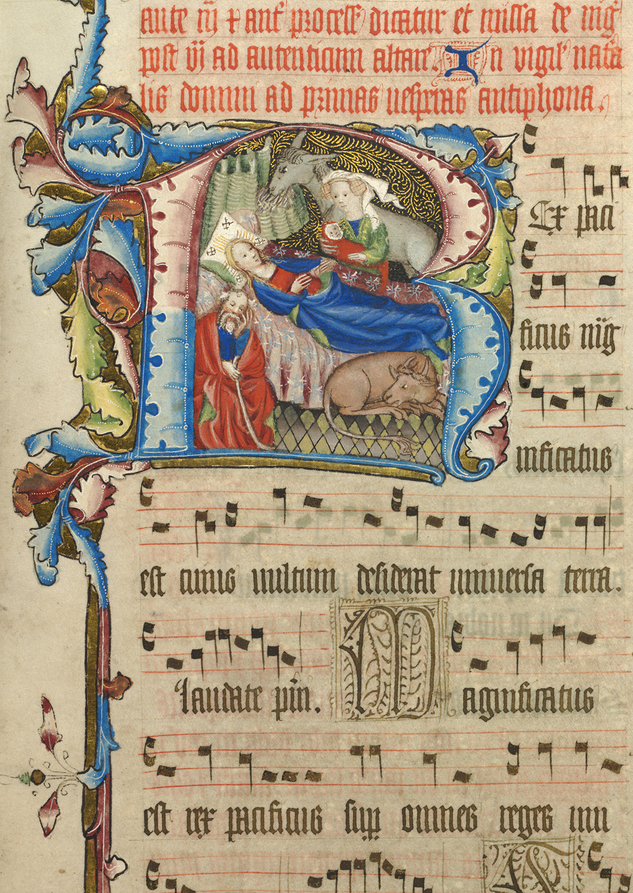 Antiphonal Christmas Card 1