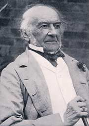 Photograph of William Ewart Gladstone at the time of his retirement, 1894