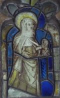 Image of St Zita from East Markham church, Nottinghamshire, photograph by Rupert Webber
