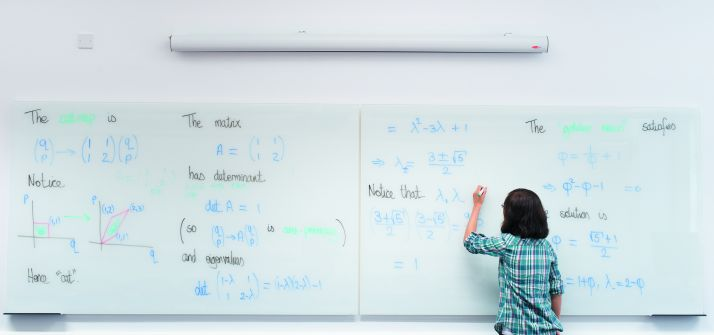 Maths-Building-interior-A17-white-board-female-right