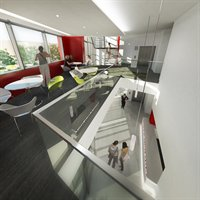 An alternative view of how the Institute of Mental Health interior will look
