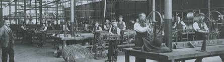 The Raleigh factory in its heyday