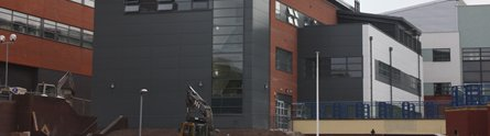 The new University of Nottingham School of Nursing, Midwifery and Physiotherapy Education Centre in Derby