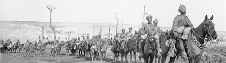 Sikh soldiers during the First World War