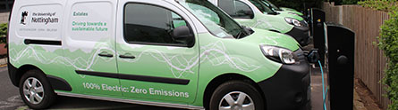 Electric vehicles spark energy savings in Nottingham