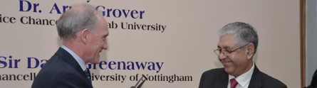Prof-Greenaway-and-Professor-Arun-Grover-VC-of-Panjab-445x124