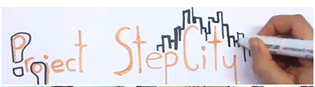 Project Step City logo