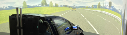 Driver simulation - human factors 445 x 124