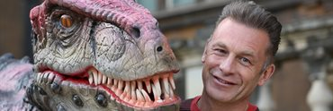 Chris Packham is supporting the ground breaking Dinosaurs of China exhibition