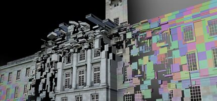 Trent building becomes digital canvas for Chinese New Year celebrations