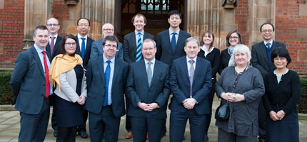 The University of Nottingham to build major collaboration with top Chinese engineering institutions