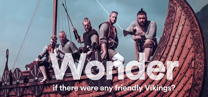 Wonder 2017: Watch Vikings battle and create body parts from jelly