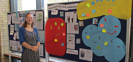 Students reveal superbug fighting microbes at AMR Awareness Day