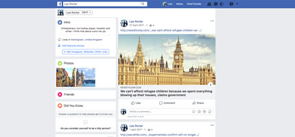 Fake Facebook account reveals how we fall for fake news