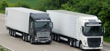 Volvo Trucks backs new research to turn old diesel engines into green energy storage machines