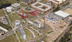 Engineering Surveying with Geographical Information Science - Jubilee campus bird's eye view