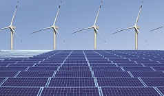 Sustainable Energy Engineering - wind turbines and solar panels