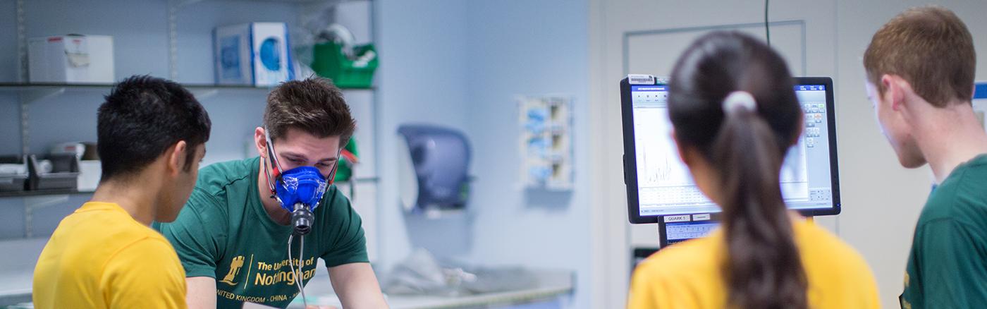 Sports and Exercise Medicine MSc - The University of Nottingham