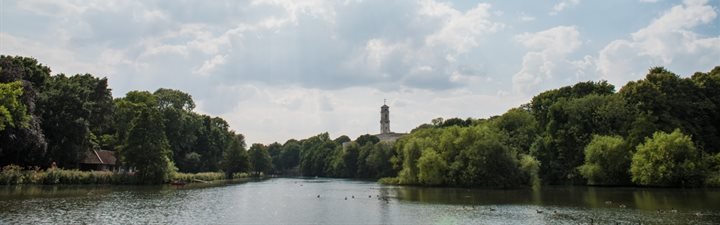 Highfields Lake with view of Trent