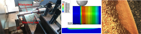 Experimental testing and FE simulation of Surface mechanical