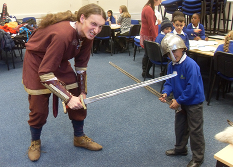 Vikings in Schools project