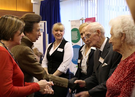Princess Royal celebrates 25th anniversary of OT research at Nottingham