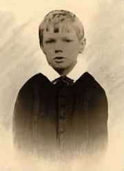 D.H. Lawrence as a young boy