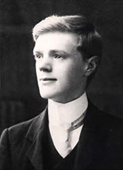 Lawrence on his 21st birthday, 1906