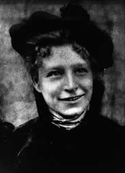 Frieda as a young woman