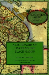 Cover of A Dictionary of Lincolnshire Place-Names
