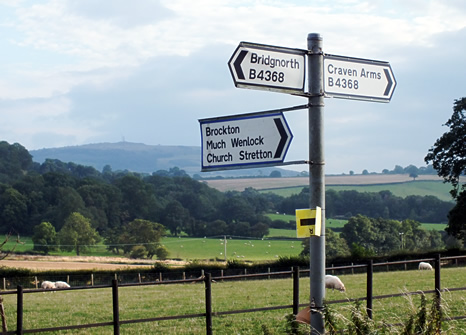 English Road Signs