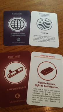 Information Privacy by Design Cards